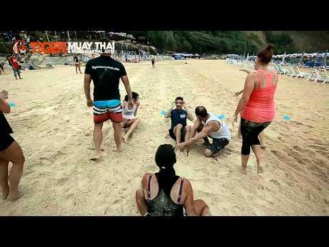 Beach Workout with Aurora Lauzeral @ Tiger Muay Thai