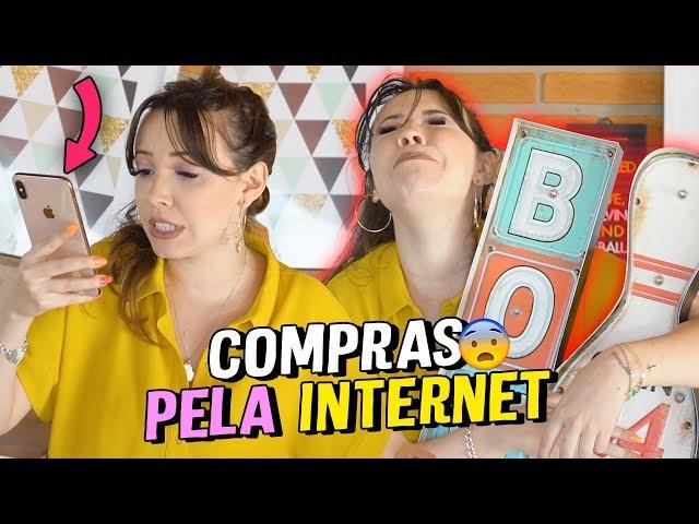 COMPRAS PELA INTERNET - Taciele Alcolea