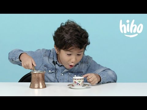 American Kids Try Coffee From Around the World