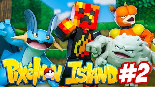 Minecraft Pixelmon Island UHC #2 - PRESTON IS OVER POWERED