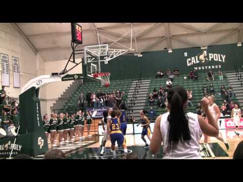 Cal Poly Women's Basketball vs UC Riverside