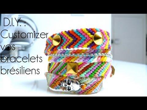 Tutoriel - D.I.Y. : Créer & customizer vos bracelets brésiliens + Giveaway (FERME)