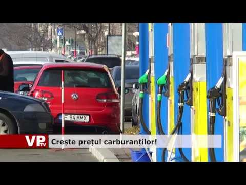 Crește prețul carburanților