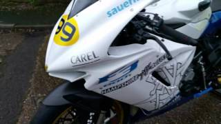 7. MV Agusta F3 675 race bike (very high spec)