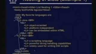 Lecture -14 HTML-Part-II