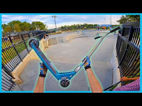 MOST EXPENSIVE SCOOTER AT SKATEPARK!