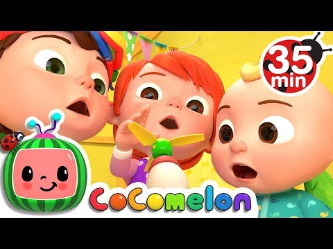 Humpty Dumpty | +More Nursery Rhymes & Kids Songs - Cocomelon (ABCkidTV) - Thời lượng: 35:36.