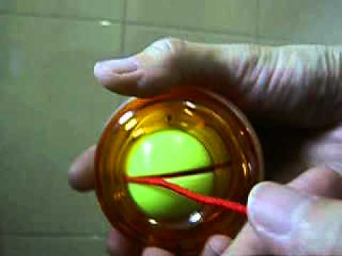 How To Start Led Power Gyroscope Gyro Wrist Ball With Starter String