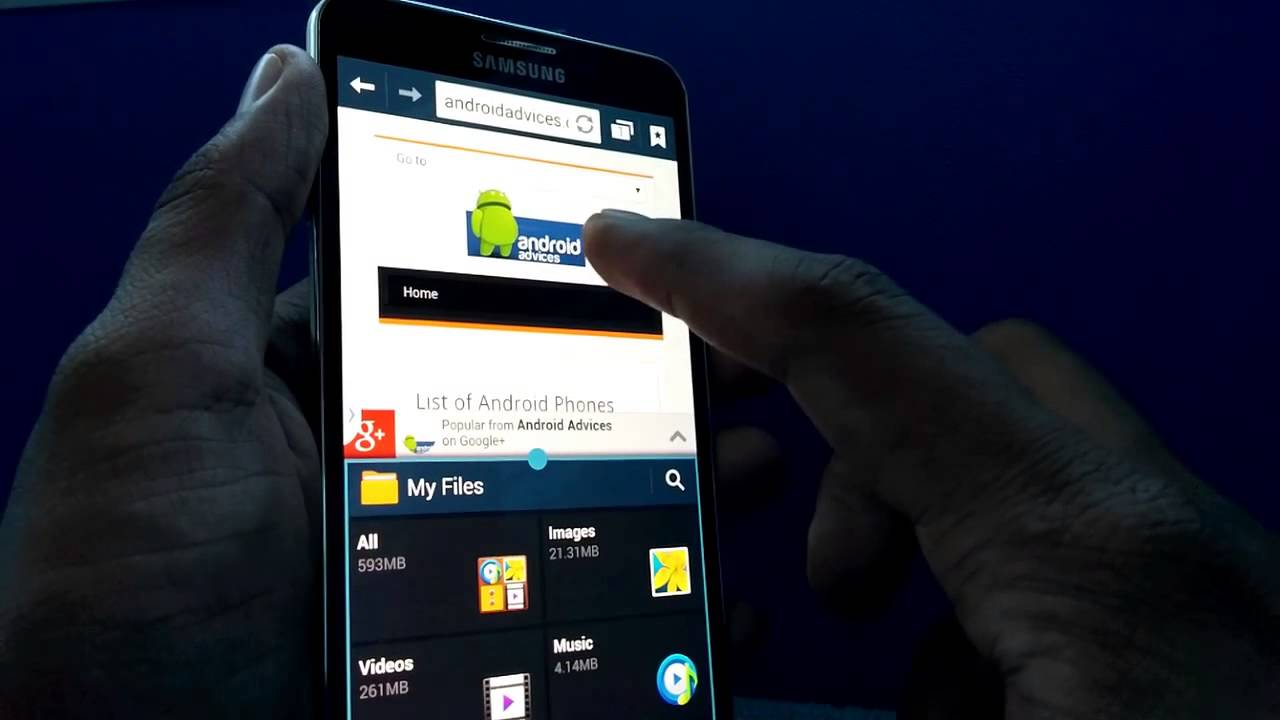 Descargar Multi Window On Samsung Galaxy Note 3 – How to Use Multiple Apps para Celular  #Android
