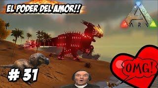 EL PODER DE EL AMOR!! #DINOSAURIO HÍBRIDO #ARK // ARK 2 mod serie #31 -DINOSAURIOS Español HD