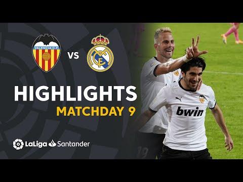 Highlights Valencia CF vs Real Madrid (4-1)