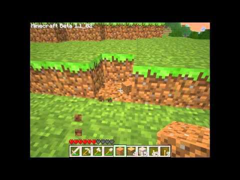 Minecraft Туториал 2 - Как найти железо,печка,мобы
