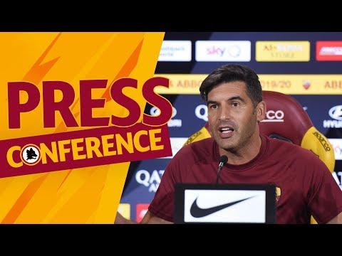 LIVE: La conferenza stampa di Paulo Fonseca in vista di Roma-Sassuolo