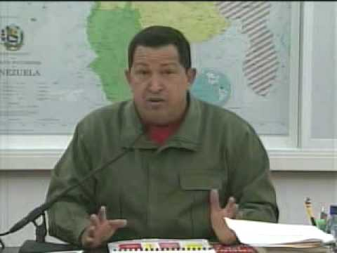 Chávez se ríe del zapatazo a Bush.flv