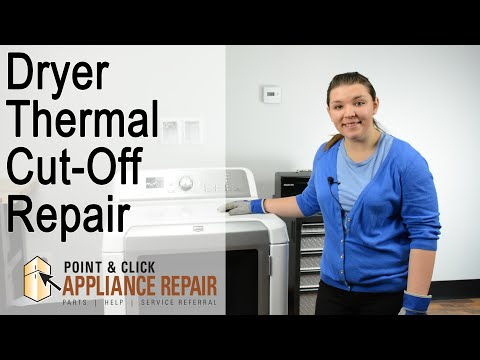 Dryer Repair: Thermal Cut-Off Replacement (Part Number 8573713) – Maytag Gas Dryer