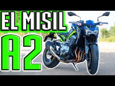 Prueba KAWASAKI Z900 A2 2018 la MEJOR MOTO para el carnet A2