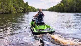10. Doing Donuts on 2018 Sea-Doo GTR-X 230 & RXT-X 300 in Myrtle Beach Blast From Past