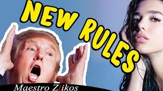 Video Trump Sings New Rules by Dua Lipa /NOW ON iTUNES MP3, 3GP, MP4, WEBM, AVI, FLV Januari 2018