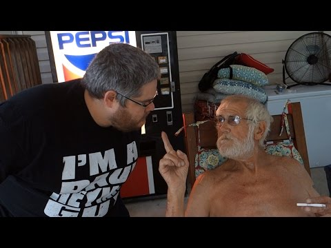 CONFRONTING ANGRY GRANDPA!!