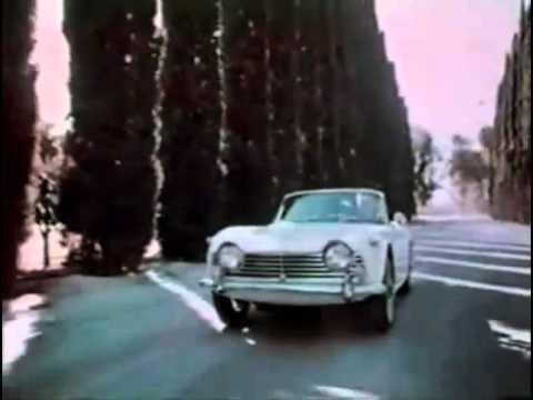 Carjam: Triumph TR4 TV AD Original Commercial