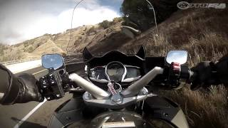 7. MotoUSA First Ride video aboard the 2013 Yamaha FJR1300A