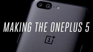 The OnePlus 5 is the company's new flagship and latest effort at proving it can make a competitive alternative to an iPhone or Galaxy. The Verge's Dan Seifert went to Shenzhen, China to meet with OnePlus to see how it found its niche and how the new phone came to be. Subscribe: http://goo.gl/G5RXGsCheck out our full video catalog: http://goo.gl/lfcGfqVisit our playlists: http://goo.gl/94XbKxLike The Verge on Facebook: http://goo.gl/2P1aGcFollow on Instagram: http://goo.gl/7ZeLvXRead More: http://www.theverge.com