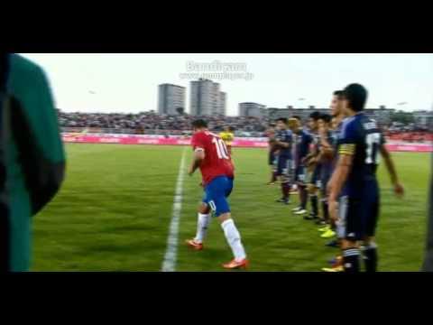 「[サッカー]デヤン・スタンコビッチ兄貴がセルビア代表引退試合で長友佑