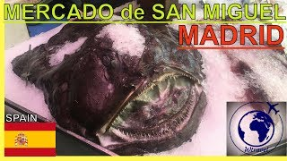 MUST SEE MARKET in MADRID(Mercado de San Miguel, Wtravel)