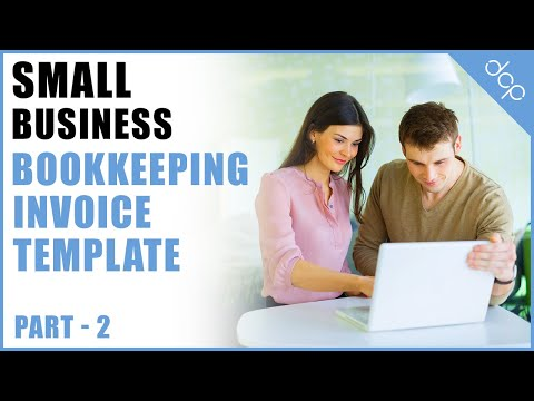 bookkeeping for small business tutorial part 2 – open office calc spreadsheets – invoice template