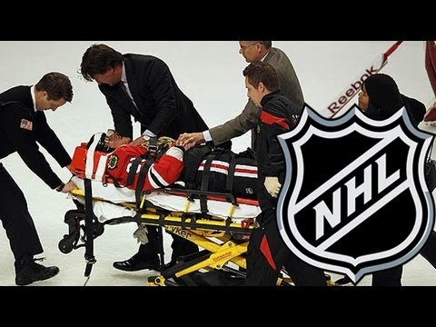 NHL playoff violence: fights, hits mar hockey playoffs      - YouTube