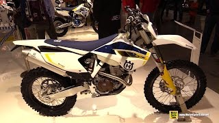 5. 2015 Husqvarna FE 250 - Walkaround - 2014 EICMA Milan Motorcycle Exhibition