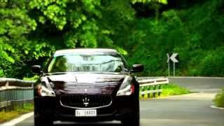 Maserati Quattroporte International Press Test Drive - Official Video