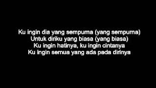 Sammy Simorangkir (@sammy0809SmrgkR) - Dia (lirik/lyrics) Video