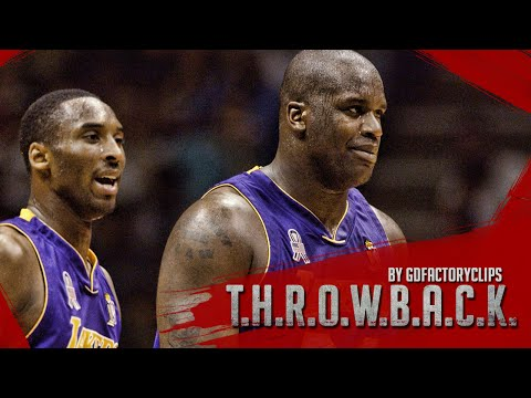 Throwback: Kobe Bryant 36 Pts & O'Neal 35 Pts