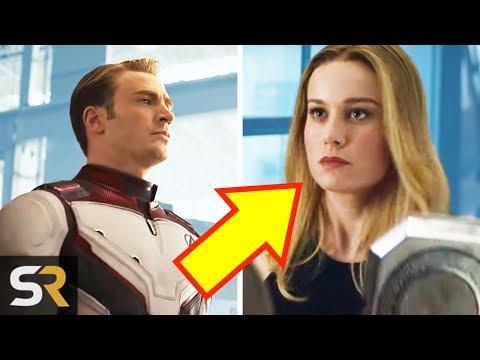 Avengers: Endgame Trailer Breakdown - Captain Marvel Joins The Avengers