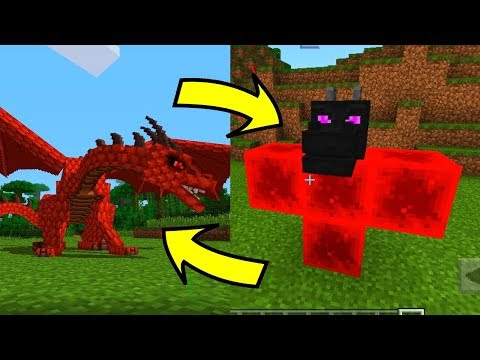 5 TRUCCHI con la TESTA di DRAGO su MINECRAFT PE - Pocket Edition