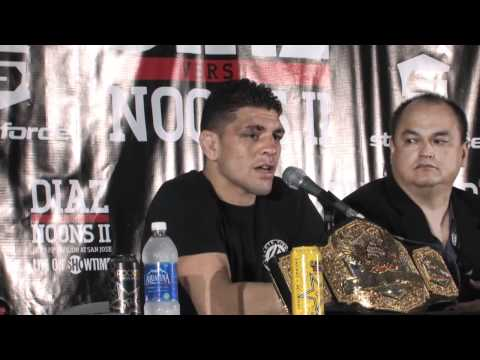 Nick Diaz Full Post Fight Press Conference