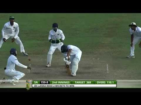 Niroshan Dickwella 72 vs South Africa on Test debut