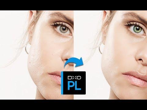 DxO PhotoLab: Face beautification using local adjustments