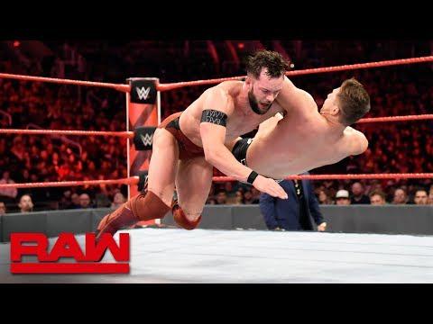 Finn Bálor vs. The Miz - Seven-Man Gauntlet Match Part 5: Raw, Feb. 19, 2018