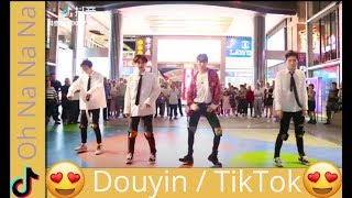 Video Tiktok China  New Oh Na na na Challenge 2018 tik tok dance challenge MP3, 3GP, MP4, WEBM, AVI, FLV November 2018