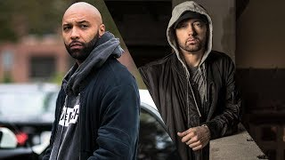 Eminem Disses Joe Budden on 'Chloraseptic remix' after Joe Budden calls his Album 'TRASH'.