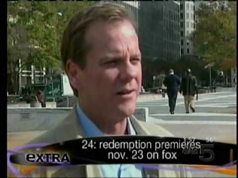Kiefer Sutherland speaks 24 Redemption, Season 7 on Extra