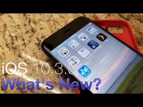 iOS 10.3.3 Is Out! - What's New?