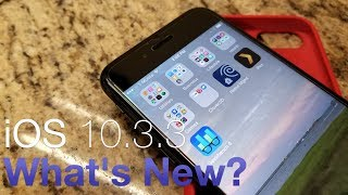 """Apple released iOS 10.3.3 to the public today.  I go over what's new.iPhone Case in this video:  http://amzn.to/2uDT4PUiPhone Screen Protector used:  http://amzn.to/2uJH6oWiPhone 7:  http://amzn.to/2uDLODJWallpaper:  http://imgur.com/VDnDP0uGear I use and love:  http://kit.com/Zollotech/zollotech-gearSupport ZOLLOTECH on Amazon:  http://amzn.to/2jxmglNOutro Music:  """"Sunday"""" by Otis McDonald - Available in the YouTube Create Audio LibraryWebsite: http://www.zollotech.comFollow me on Google+ : http://google.com/+zollotechFollow me on Twitter: http://www.twitter.com/zollotechFacebook page: http://www.facebook.com/zollotechInstagram:  https://www.instagram.com/aaronzollo"""