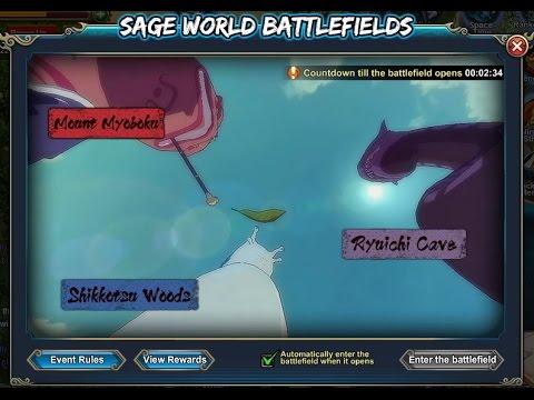 Naruto Online | Sage War | Space Time