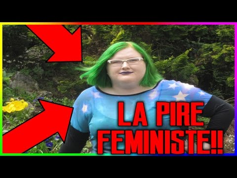 CETTE FEMINISTE FOLLE INSULTE UN HOMME POUR RIEN !! PIRE FÉMINISTE ! - ApeX Vno0oM