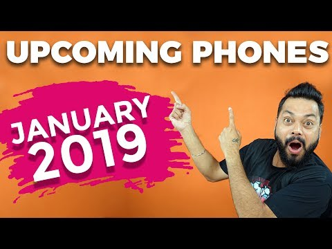 TOP 10 UPCOMING MOBILE PHONES IN INDIA JANUARY 2019 ⚡⚡⚡