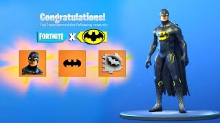 The FREE BATMAN EVENT REWARDS NOW in Fortnite..