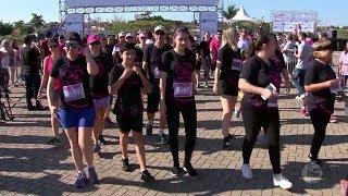 Pink do Bem: corrida solidária reúne 1.500 participantes